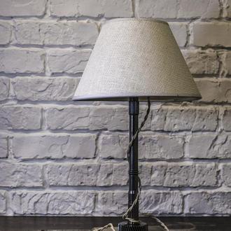 "Настольная лампа с абажуром ручной работы ""Pride&Joy"" (Industrial Table Lamp), светильник"