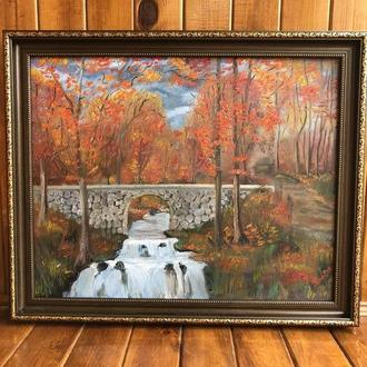 Картина ,,Волшебная осень ''