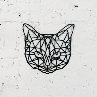 """Полигональная картина """"Кошка"""""""