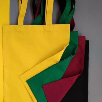 Экосумка черная Киев, эко-сумка желтая, шоппер Киев, екосумка бордовая, авоська Киев, эко сумка