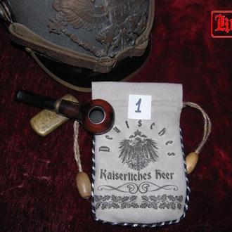 Кисеты для табака Германия ( Пмв , Вмв) и РККА (реплика)