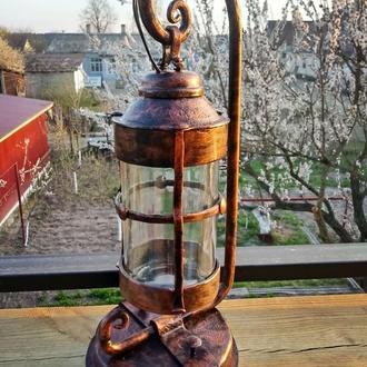 Светильник  фонарь кованый