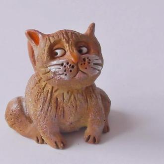 Кот фигурка ручной работы
