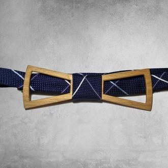Деревянный галстук-бабочка. Подарок для мужчин. Подарок на день рождения. Свадебный галстук-бабочка.