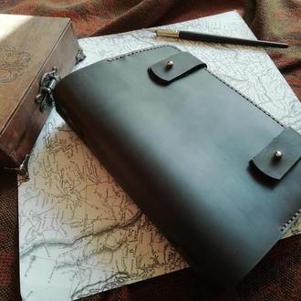 Офісний блокнот Шкіряний щоденник Блокнот шіряний Обкладинка зі шкіри Органайзер зі шкіри Софтбук