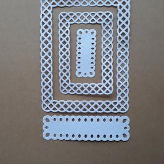 картонная вырубка рамки 8, декор для скрапбукинга