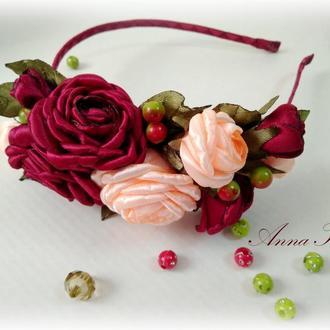 """Обруч етно """"9 Троянд"""""""