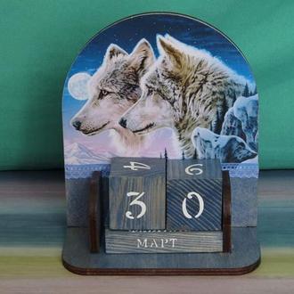 Вечный календарь Волк
