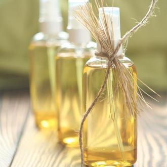 Гидрофильное масло с расторопшей, ромашкой, витамином Е и эфирным маслом бергамота