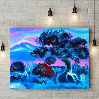 Похмурі прерії (картина масло/полотно) 50х60х2 см