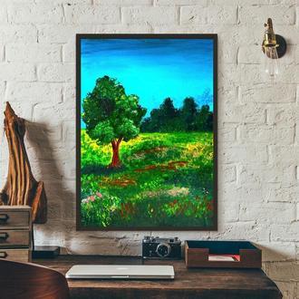 Летняя свежесть (картина масло/холст) 50х70х2 см