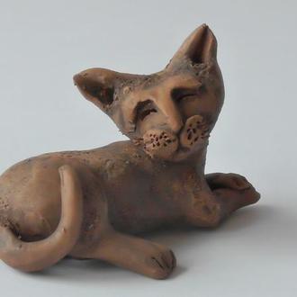 Кот статуэтка для коллекции