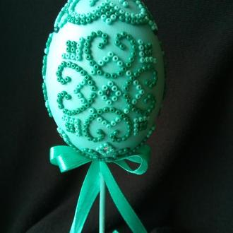 Пасхальное яйцо(натуральна скорлупа)