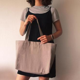 Лляна сумка/шопер