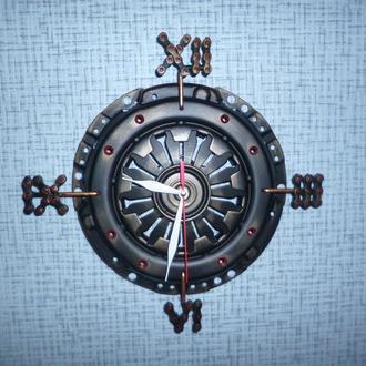 часы настенные в стиле стимпанк
