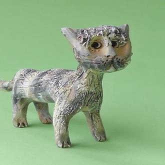 Подарок котик фигурка для коллекции