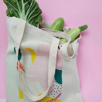 Эко-сумка Киев,  экосумка абстракция киев, , шоппер киев, екосумка, авоська киев, сумка абстракция