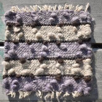 Килимок для крісла / Тканий килим