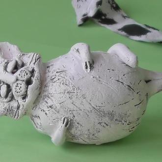 Фигурка Кот сувенир керамика