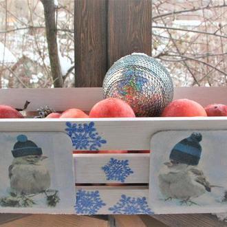 Ящик для фруктів та солодощів