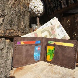 Портмоне,кошелек из натуральной кожи