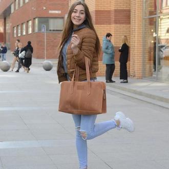 """""""Венеция"""" стильная кожаная женская сумка"""