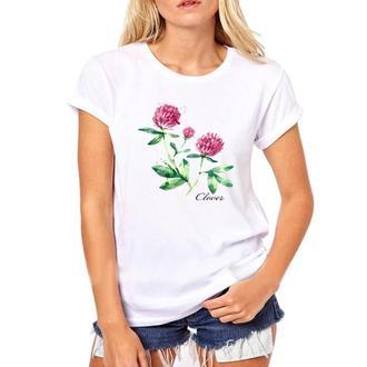 Женская футболка Clover