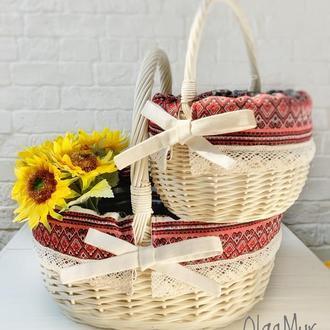 Пасхальные корзины (набор) в украинском стиле