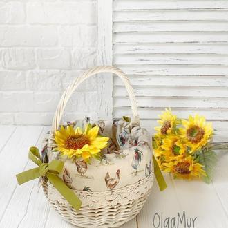 пасхальная корзина ′Петушки′