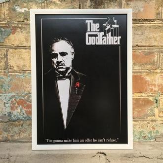 """Постер в рамке под стеклом А3 """"Крестный отец"""" (The Godfather)"""""""