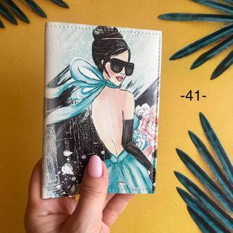Обложка на паспорт Tiffany