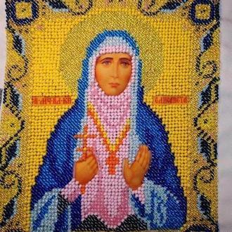 Вышивка бисером Икона Святой Преподобной мученицы елисаветы