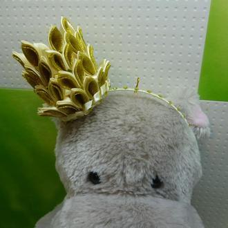 Новогодняя корона для принцессы