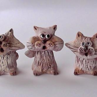 """Фигурки """"Три кота"""" котики"""