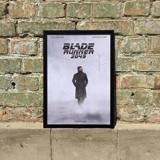 """Постер в рамке под стеклом А3 """"Бегущий по лезвию"""" (Blade runner)"""