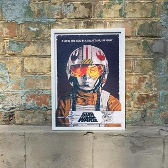 """Постер в рамке под стеклом А3 """"Звездные войны"""" ( Star Wars)"""""""