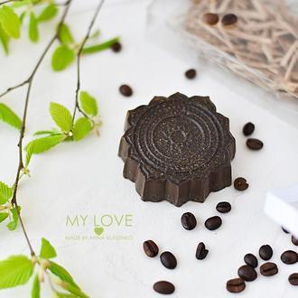 Мыло-скраб для тела с молотым кофе Love My Body