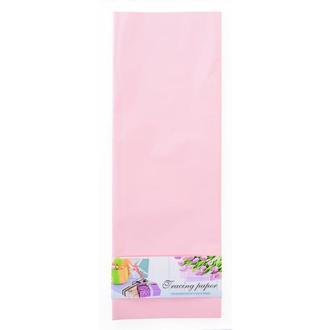 Пленка для упаковки и декорирования, светло-розовый, 60*60см
