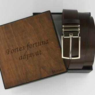 Мужской кожаный ремень, коричневый ремень, ремень ручной работы, кожаный ремень на заказ, ремень