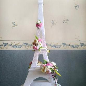 Эйфелева башня праздничный свадебный декор 77 см  ЭКСКЛЮЗИВ Париж