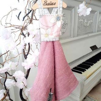 """Платье полотенце для рук """"Розовые мечты"""""""