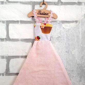"""Кухонное платье-полотенце для рук """"Сладкоежка"""""""