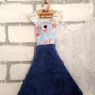 """Кухонное платье-полотенце для рук """"Отдых у реки"""""""