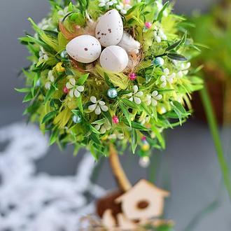 Декоративный топиарий/деревце счастья Funny Easter