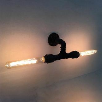 Бра Loft Art из водопроводных труб