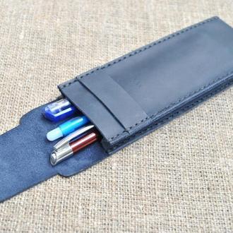 Кожаный пенал для ручек R01-600