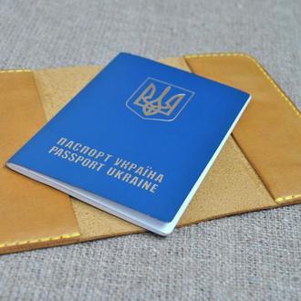 Обложка для паспорта из кожи  P01-180