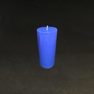 Свеча синяя