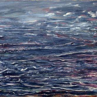 Картина шторм
