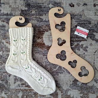Деревянные блокаторы ′Мышки′ для носков, формы для сушки, блокираторы